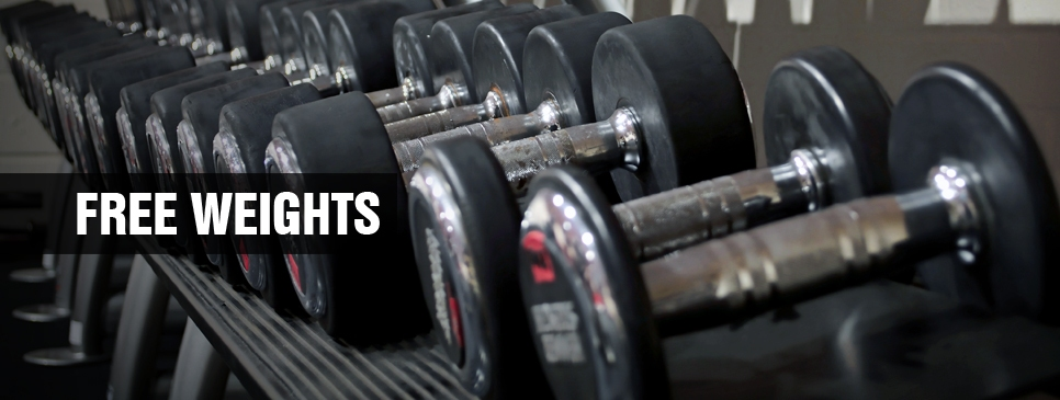 Free Weights Gym in Stowmarket